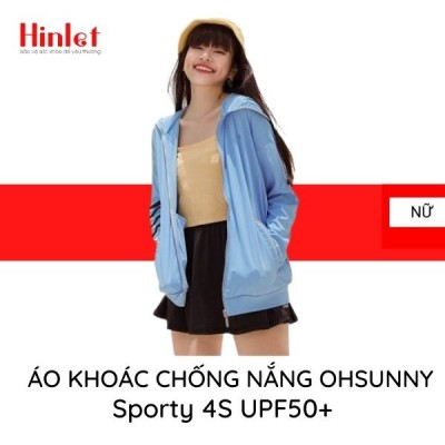 Áo chống nắng nữ OHSUNNY Sporty 4S UPF50+ | Hinlet